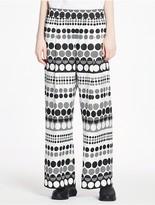 CK Calvin Klein Dot Silk Elasticated Pants