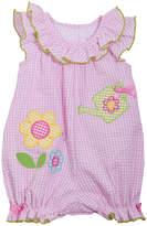 Bonnie Jean Flower Romper -Baby Girls