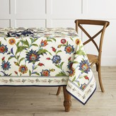 "Williams-Sonoma Williams Sonoma Iznik Tablecloth, 70"" X 108"""