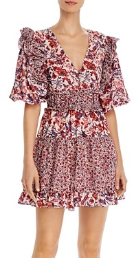 Saylor Laci Floral Mini Dress