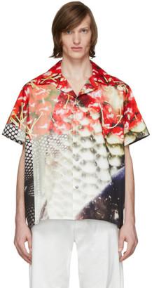 Maison Margiela Multicolor Satin Shirt