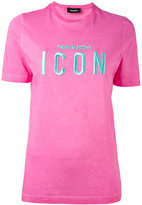 DSQUARED2 ICON embroidered T-shirt