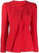 Giorgio Armani asymmetric blazer
