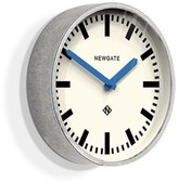 Newgate Galvanised Steel Luggage Wall Clock With Blue Hands