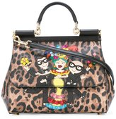 Dolce & Gabbana Sicily designer's patch tote - women - Calf Leather/Leather - One Size
