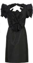 Reglisse silk dress