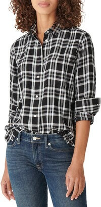 Lucky Brand Relaxed Plaid Flannel Shirt