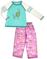 PJ Salvage Youth Girl's Llama PJ Set