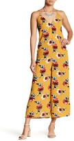 Flying Tomato Floral Cutout Jumpsuit