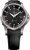 Corum 403.100.04/F371 AN10 Admirals Cup titanium and rubber strap watch