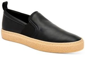 Calvin Klein Men's Emmett Small Grain Slip-On Sneakers Men's Shoes