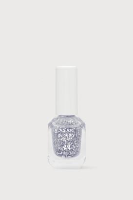 H&M Fast-drying Nail Polish - Silver