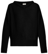 Lemaire V-neck chunky wool-knit sweater
