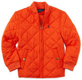 Ralph Lauren Boys 2-7 Diamond-Quilted Baseball Jacket