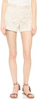 Alice + Olivia Susi High Waisted Shorts