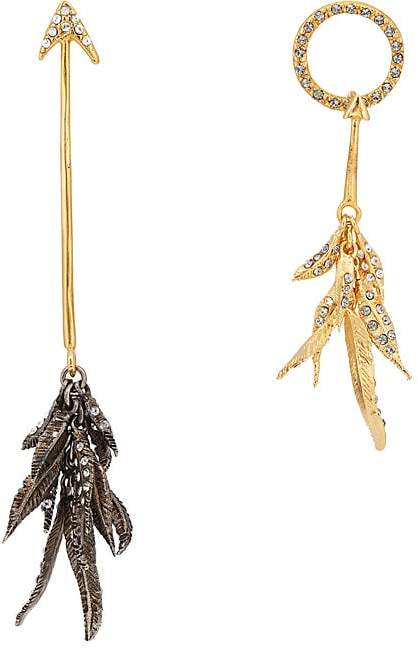 Givenchy Women's Arrow Mismatched Drop Earrings