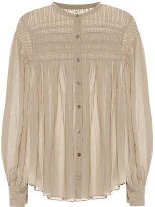 Etoile Isabel Marant Plalia cotton voile blouse