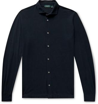 Incotex Ice Cotton-Jersey Shirt