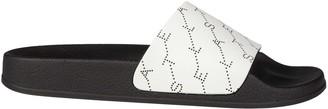 Stella McCartney Monogram Strap Sliders