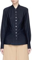Stella McCartney Snap button fitted poplin shirt