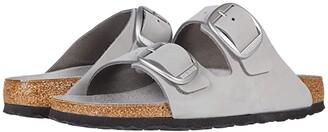 Birkenstock Arizona Big Buckle (Dove Gray Nubuck) Women's Sandals