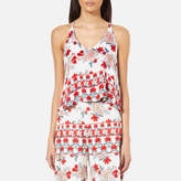 MinkPink Women's Bed of Roses Cami Top