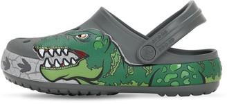 Crocs Dinosaur Print Rubber