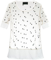 Andrea Bogosian embroidered tulle blouse