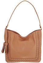 Tignanello As Is Dreamweaver Smooth Leather Hobo