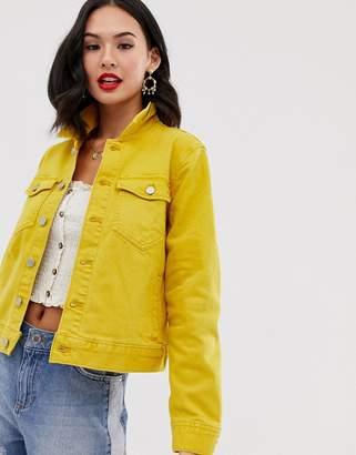 J.Crew Mercantile J. Crew crop yellow denim jacket