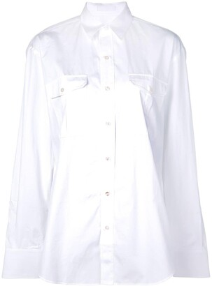 Wardrobe NYC Release 03 tailored poplin shirt