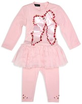 Kate Mack Infant Girls' Bow Tunic & Leggings Set - Sizes 12-24 Months