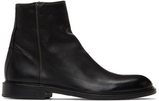 Paul Smith Black Zip Billy Boots