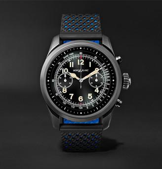 Montblanc Summit 42mm Titanium And Rubber Smart Watch, Ref. No. 119563
