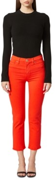 Hudson Barbara Cropped High-Rise Jeans