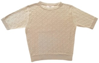 Graciela Huam Emilia Crop Top - Beige