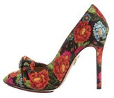 Charlotte Olympia Ava Floral Pumps