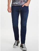 J. Lindeberg Slim Fit Jeans, Mid Blue