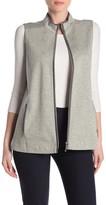 Lafayette 148 New York Two-Way Zip Vest