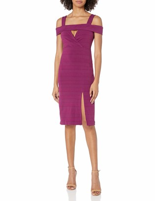 BCBGeneration Women's Off-Shoulder Cocktail Dress