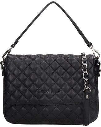 Dakota Marc Ellis Shoulder Bag In Black Leather