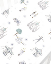Thumbnail for your product : Gooselings Adventures in Wonderland Crib Sheet