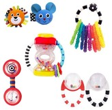 Sassy ; Baby's First Rattles Gift Set - Multi-Colored