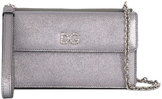 Dolce & Gabbana crystal embellished crossbody bag