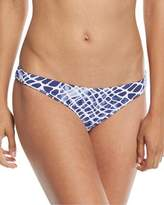 Letarte Printed Hipster Moderate Coverage Swim Bottom