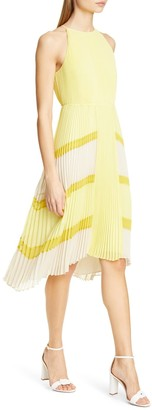 Ted Baker Nellina Pleated Midi Dress