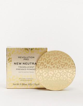 Revolution Pro New Neutrals Translucent Pressed Powder
