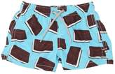 MC2 Saint Barth Ice Cream Sandwich Nylon Swim Shorts