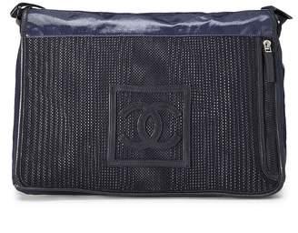 Chanel Navy Sportline Messenger Bag