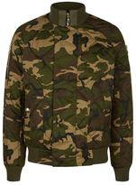 Balmain Matelassé Camouflage Jacket